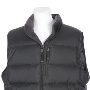 LL Bean Black Goose Down Insulated Puffer Vest